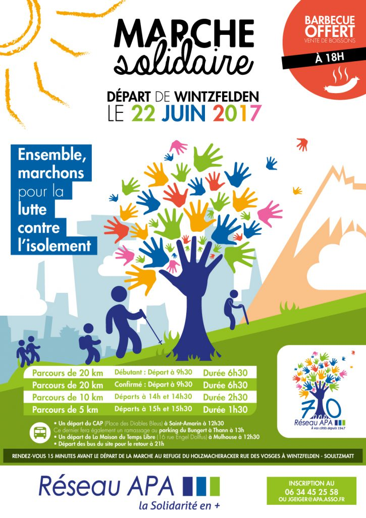Flyer Marche Solidaire