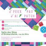 Affiche expo patchwork Ottmarsheim