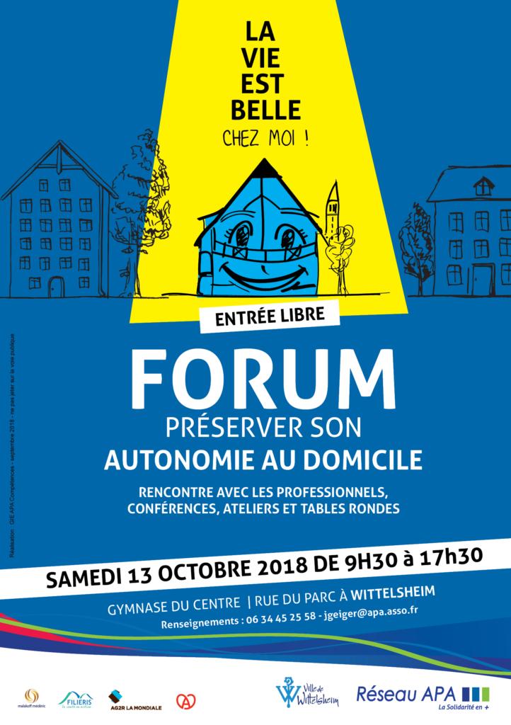 Forum 13 octobre : La vie est belle.. chez moi !