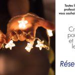 Mains qui tiennent de la lumière, pour une bonne année 2019, créer du lien pour illuminer et réchauffer les coeurs