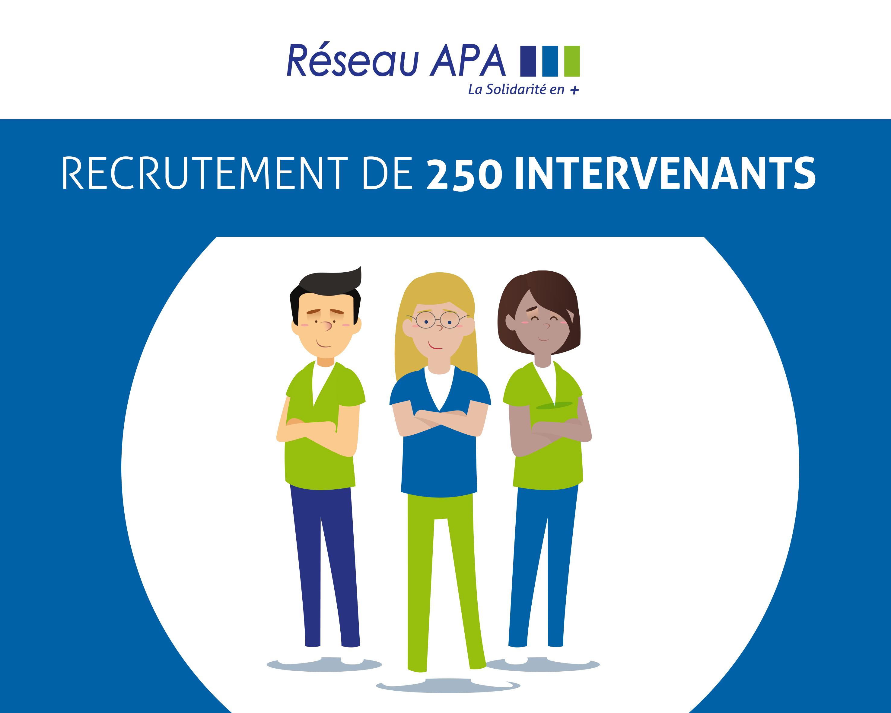 RECRUTEMENT DE 250 INTERVENANTS POUR L'ETE
