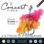 Concert à la Filature le 20 octobre 2019