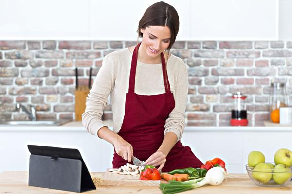 Préparation du repas à domicile