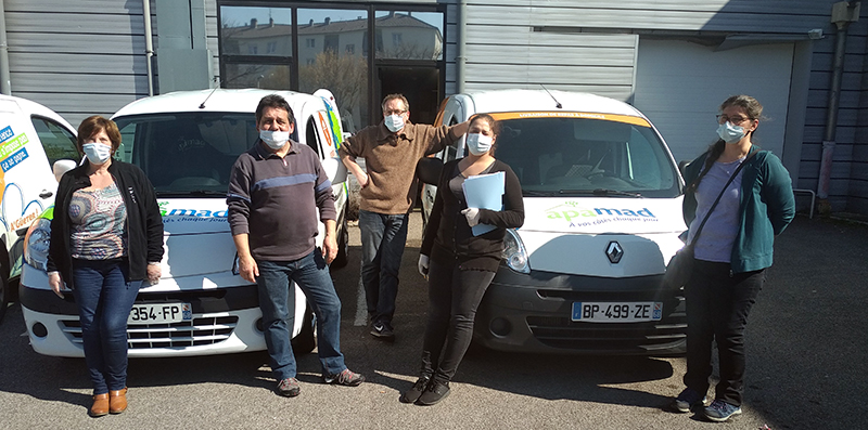 Coronavirus / Haut-Rhin : La livraison de repas continue