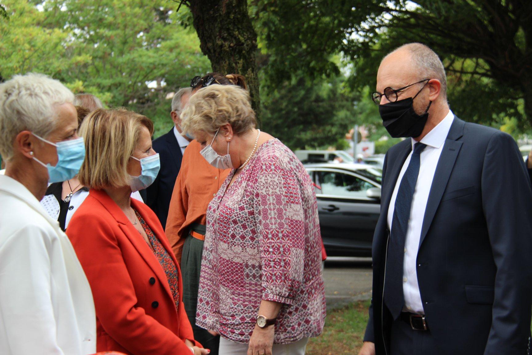 Visite des ministres Brigitte KLINKERT et Brigitte BOURGUIGNON au Réseau APA