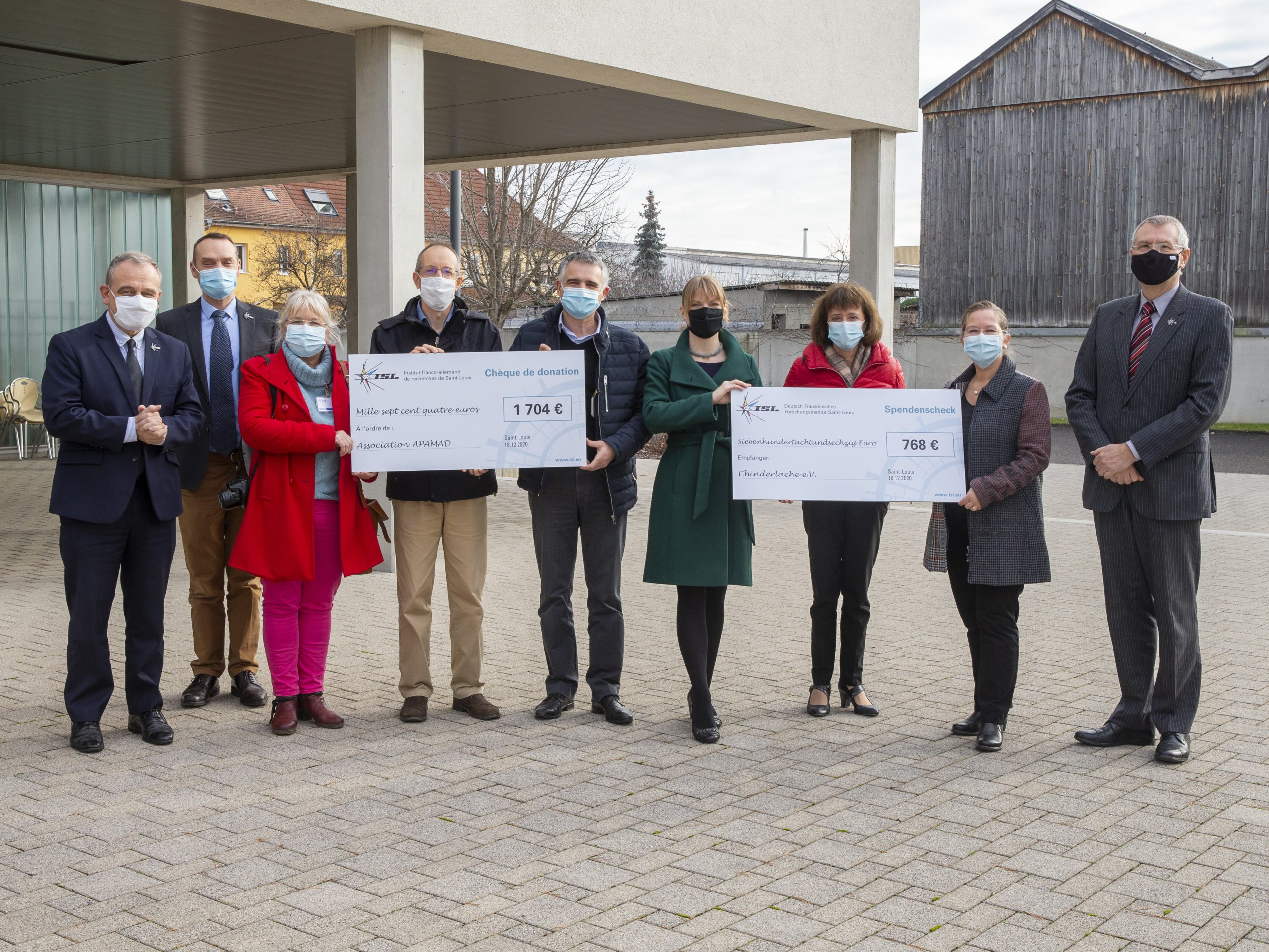 Saint-Louis: Les salariés de l'ISL renoncent à leur cadeau au profit de deux associations