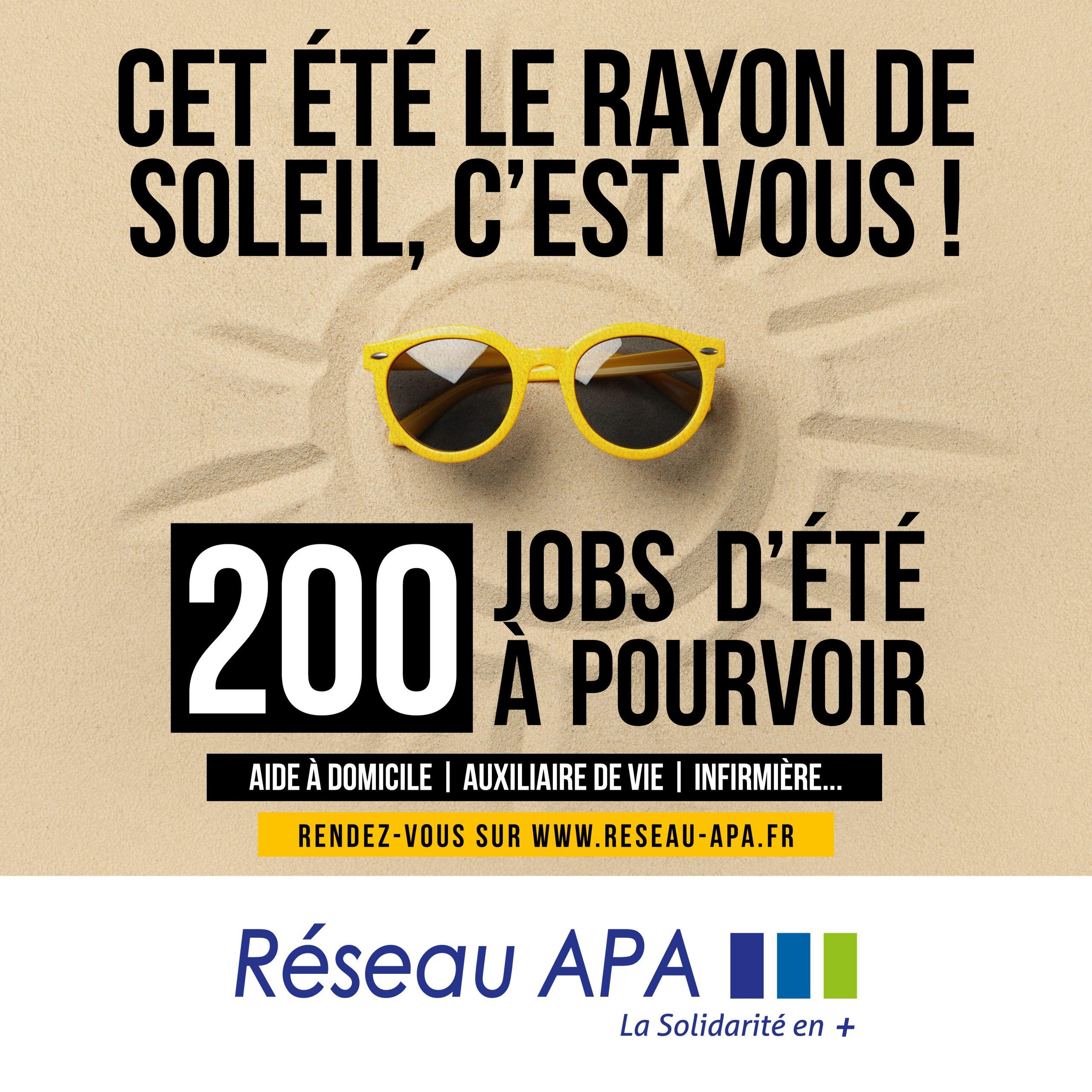 UN ÉTÉ DANS L'URGENCE: 200 JOBS D'ÉTÉ À POURVOIR AUPRÈS DES PLUS FRAGILES