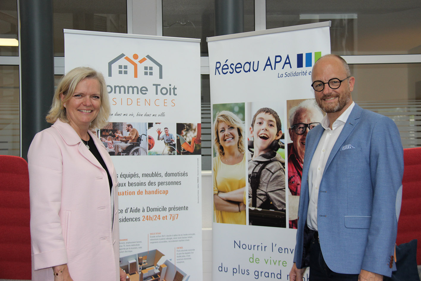 Les Résidences Comme Toit et le Réseau APA s'unissent pour proposer une offre d'hébergement adaptée aux personnes en situation de handicap